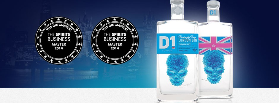Highest Gin Masters Awards for D1