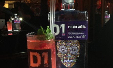 D1 Vodka Premiers at the She Inspires Art Event