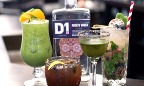 D1 Potato Vodka launches clean living cocktails with Rivington Bar & Grill