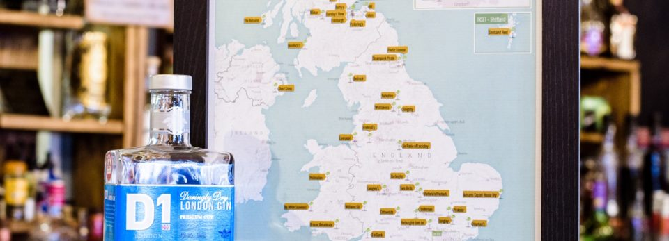 D1 London Gin & Maps International Competition T&Cs